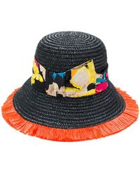 Etro - Floral Strap Hat - Lyst