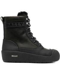Bally Ботинки Garbel На Шнуровке - Черный