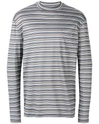 Lanvin - Thin Striped Jumper - Lyst