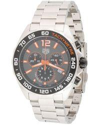 Tag Heuer Наручные Часы Formula 1 Quartz Chronograph 43 Мм - Металлик