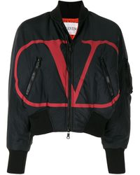 Valentino - Vロゴ ボンバージャケット - Lyst