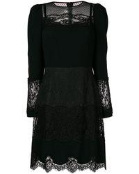 Dolce & Gabbana - レースパネル ドレス - Lyst