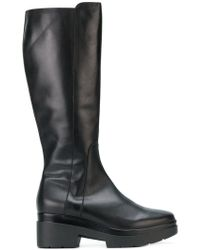 Albano - Chunky Zipped Boots - Lyst