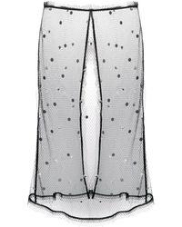 N°21 レイヤード スカート - ブラック