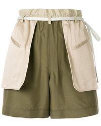 Valentino - Layered Shorts - Lyst
