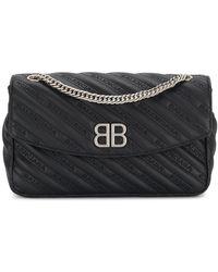 Balenciaga | Bb Round M | Lyst