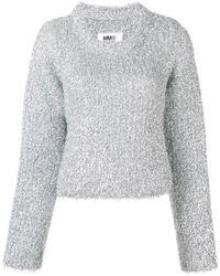 MM6 by Maison Martin Margiela - メタリック セーター - Lyst