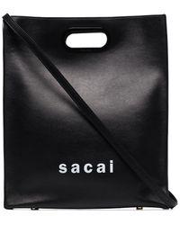 Sacai New Shopper トートバッグ - ブラック
