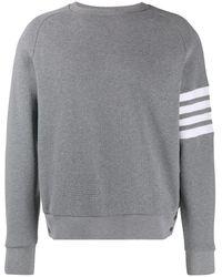 Thom Browne - ミディアムグレー ラグランスリーブ 4bar スウェットシャツ - Lyst