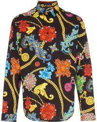 economico per lo sconto 75081 821dc Camicia Gioelleria Jetés con stampa - Multicolore