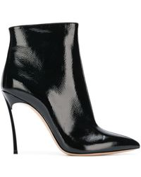 Casadei - Train Pointed Boots - Lyst