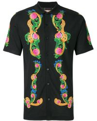 Versace - Beverly Palm Print Shirt - Lyst