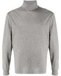 Polo Ralph Lauren タートルネック ロングtシャツ - グレー