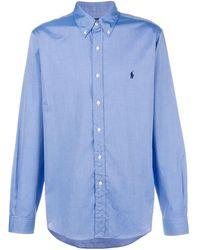 Ralph Lauren ボタンダウン シャツ - ブルー