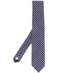 Lardini - Pattern Jacquard Tie - Lyst