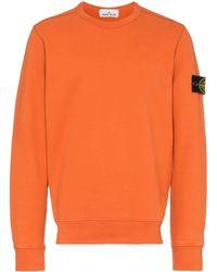 competitive price c7bb5 d277d Felpa a girocollo - Arancione