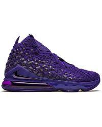 Nike Высокие Кроссовки Lebron 17 - Пурпурный