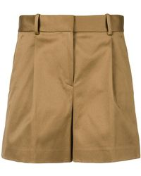 Theory - High-waisted Shorts - Lyst