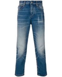 AMI - 5 Pockets Cropped Jeans - Lyst