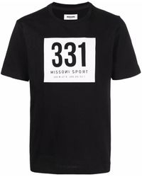 Missoni グラフィック Tシャツ - ブラック