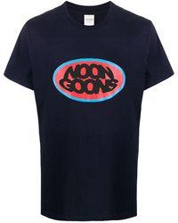 Noon Goons ロゴ Tシャツ - ブルー