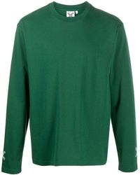 KENZO Cross ロングtシャツ - グリーン