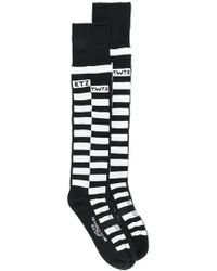 KTZ | Chequered Socks | Lyst