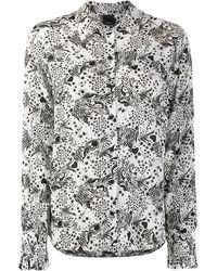 Pinko - Рубашка С Абстрактным Принтом - Lyst