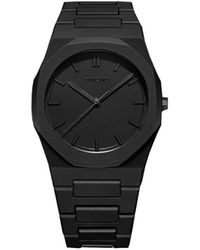 D1 Milano Shadow Polycarbon 40.5mm Watch - Black