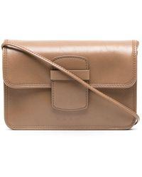 Marni Mini Satchel Bag - Brown