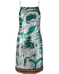 Emilio Pucci スパンコール ドレス - グリーン