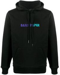 Daily Paper ロゴ パーカー - ブラック