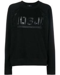 DIESEL - Holey Sweatshirt - Lyst