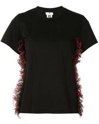 Comme des Garçons - ラッフル Tシャツ - Lyst