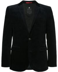 Loveless - Fitted Contrast Collar Blazer - Lyst