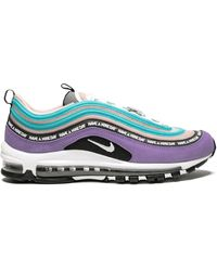 Nike Air Max 97 Trainers - Purple
