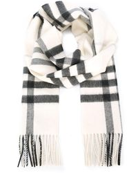 Burberry - The Classic Cashmere Scarf In Check - Lyst