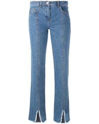 Courreges - Cut Down Jeans - Lyst