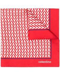 Valentino - Optical V Scarf - Lyst