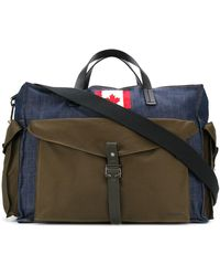 DSquared² Canadian Patch Holdall - Green