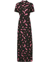 Diane von Furstenberg Georgia シャツドレス - ブラック