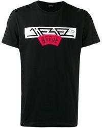 DIESEL Brave Tシャツ - ブラック