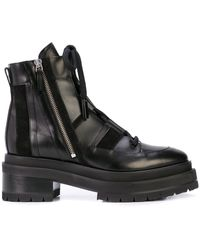 Pierre Hardy Alpha Camp Ankle Boots - Black