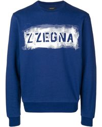 Z Zegna - ロゴ スウェットシャツ - Lyst