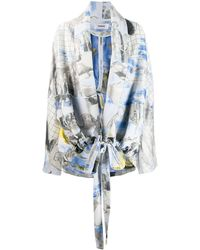 Chalayan Giacca con stampa - Multicolore