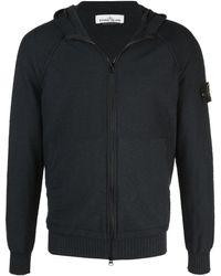 Stone Island Zip-up hoodie - Noir