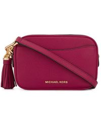 MICHAEL Michael Kors Pebbled Leather Convertible Belt Bag - ピンク