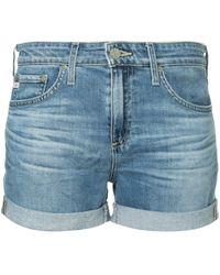 AG Jeans Short en jean Hailey - Bleu