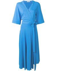 Pringle of Scotland ジャージー ドレス - ブルー