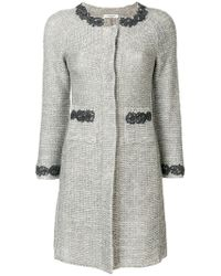 Charlott - Knitted Coat - Lyst